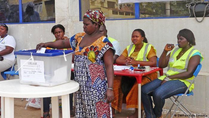 Guinea Bissau Wahlen 2012 Wahllokal