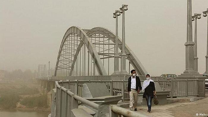 خوزستان تشنه است و در غبار گم