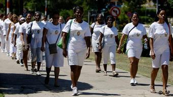 Kuba Havanna Protest Protestmarsch Damas de Blanco Dissidenten