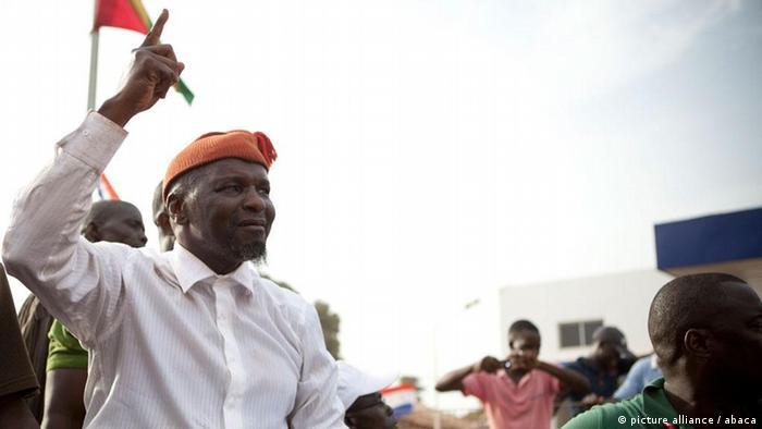 Kuma Ialá foi o segundo candidato mais votado na primeira volta das eleições presidenciais de 18 de março