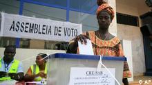 O processo das eleições presidenciais em curso foi interrompido pelo golpe de Estado