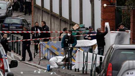 Frankreich Anschlag Schule Toulouse. (Foto: Bruno Martin/AP/dapd)