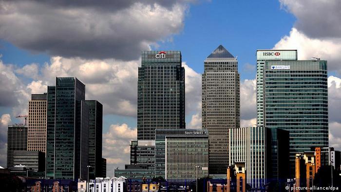 Großbritannien London Bankenviertel Hochhaus