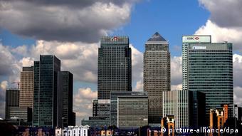 Londoner Bankenhochhäuser (Foto: picture alliance)