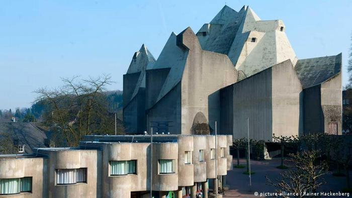 Bildergalerie Gottfried Böhm Nevigeser Wallfahrtsdom (picture-alliance / Rainer Hackenberg)