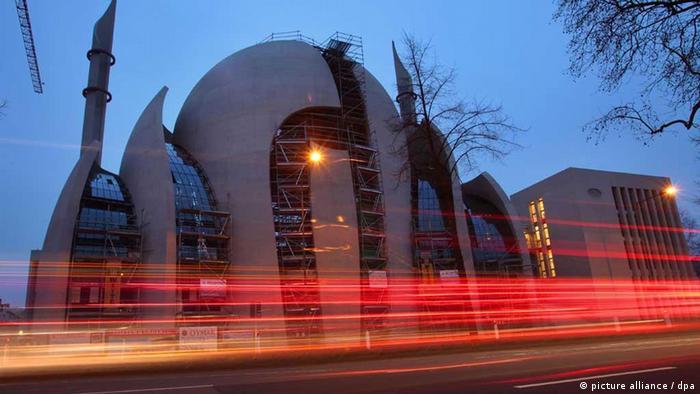 Bildergalerie Gottfried Böhm Moschee Köln (picture alliance / dpa)