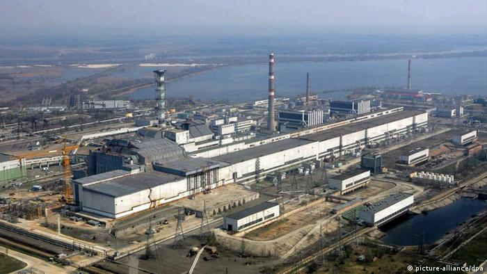 Chernobyl nuclear plant in 2006