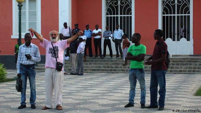José Patrocínio, ativista da organização de defesa dos direitos humanos Omunga