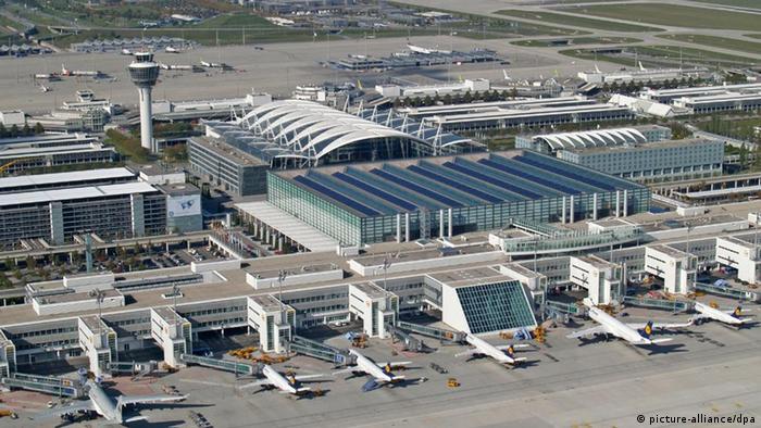 München Flufghafen Franz Josef Strauß (picture-alliance/dpa)