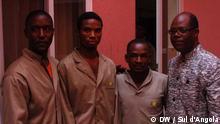 Verurteilte Demonstranten in Benguela