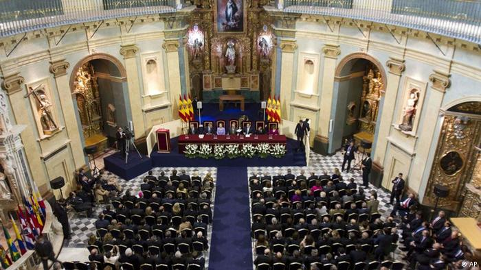 Juan Carlos Spanien 200 Jahre der Verfassung von Cadiz (AP)