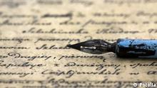 Ancient letter and pen © Jakub Krechowicz #12866032
