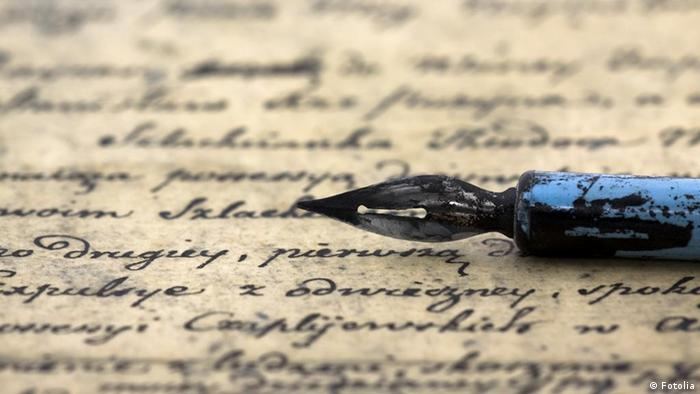 Ancient letter and pen © Jakub Krechowicz #12866032