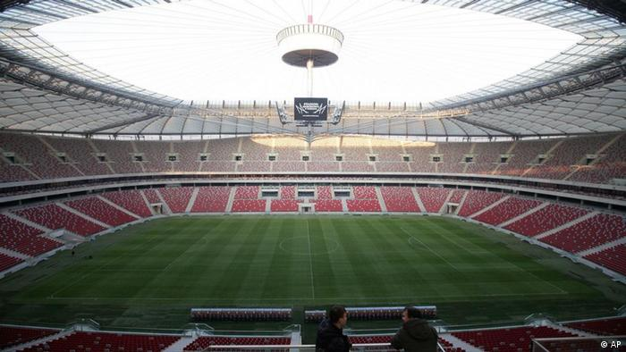 Das Nationalstadion in Warschau. (Foto: AP/dapd)