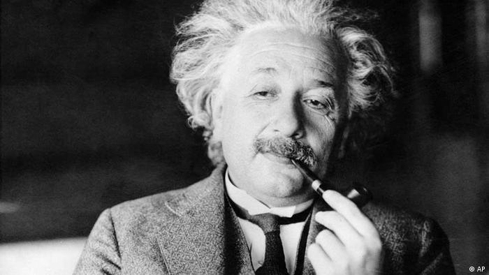 Albert Einstein Porträt