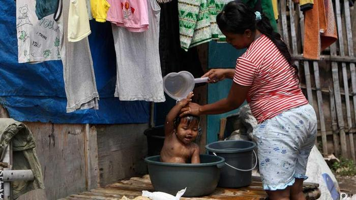 Slumbewohner Indonesien