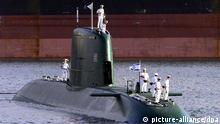 زیردریایی آلمان برای نیروی دریایی اسرائیل
