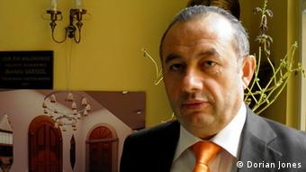 Ali Kenanoglu, head of the Turkish Hubyar Sultan Alevi cultural society