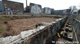 The proposed site of the canceled BMW Guggenheim Lab in Kreuzberg