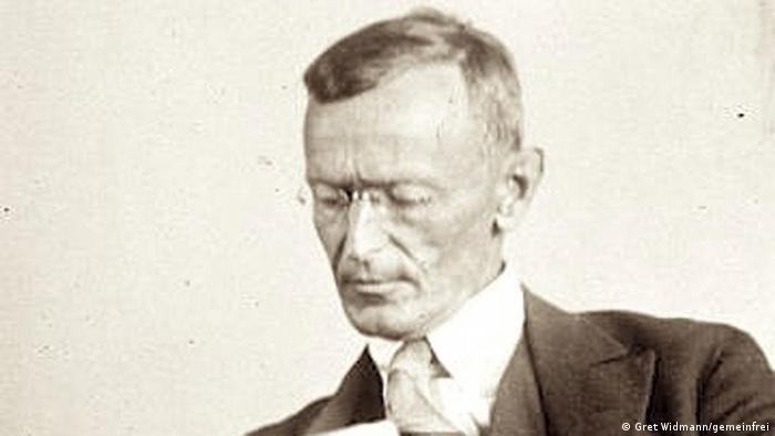 Hermann Hesse (Foto de 1929).