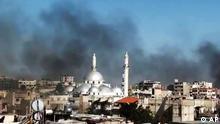عملیات ارتش سوریه برای سرکوب مخالفان در شهرهای این کشور ادامه دارد.