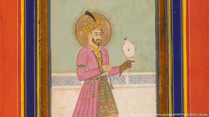 Begründer des Mogulreiches in Indien Zahir ad-Din Muhammad Babur (picture-alliance/imagestate/HIP/The British Library)