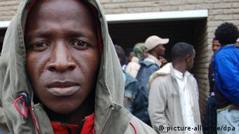 A Malawian migrant in South Africa