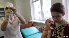 TBC Tuberkulose Impfung Kind Ukraine