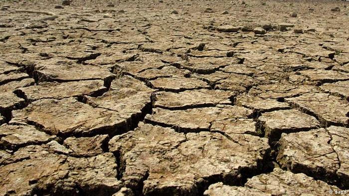 Dry desert soil