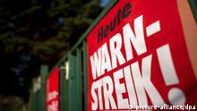 Öffentlicher Dienst Streik Warnstreik Sachsen Thüringen Sachsen-Anhalt