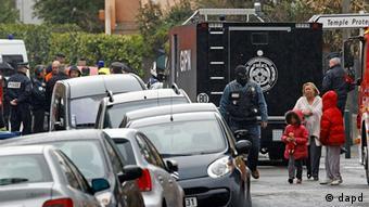 Frankreich Terror Toulouse Polizei wartet auf Festnahme