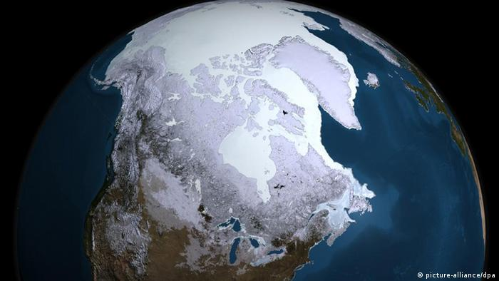 The Earth seen from space Photo: NASA Goddard's Scientific Visualization Studio