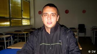 Igor Kovac, a Bosnian Serb studying at the university in Pale, March 2012