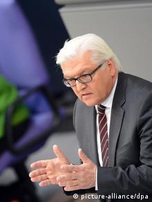 Один из лидеров СДПГ Штайнмайер пожертвовал почку своей жене