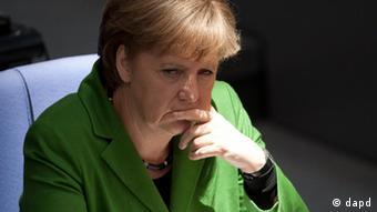 Анґела Меркель визначиться стосовно поїздки на Євро-2012 в останній момент