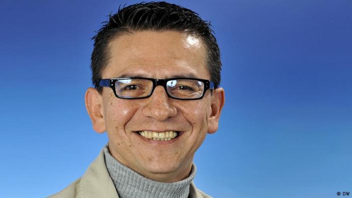 José Ospina-Valencia, periodista de DW.