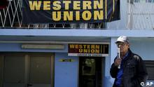 Western Union Geld Geldtransfer Kuba