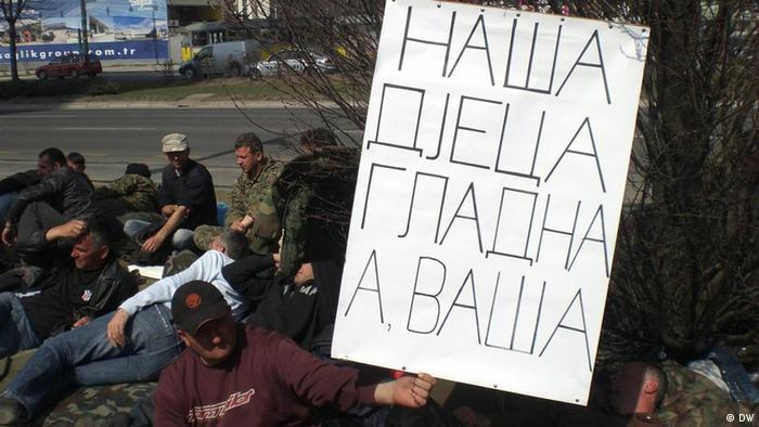Štrajk glađu bivših vojnika