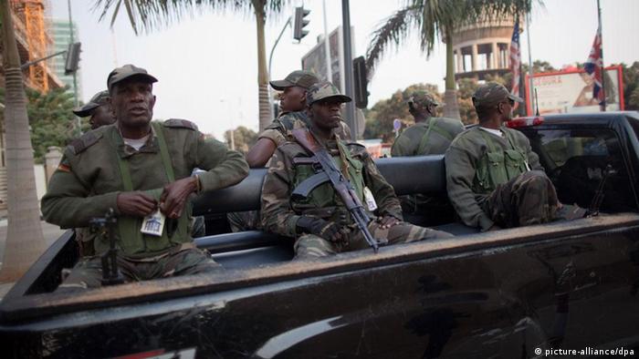 Angola Soldaten Militär Luanda