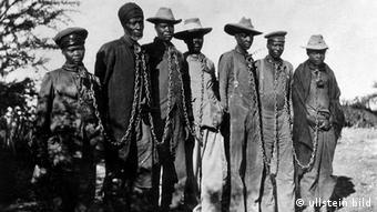 Namibia Geschichte Deutsch-Südwestafrika Gefangene Hereros
