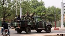 Mali Putsch Militär in Bamako