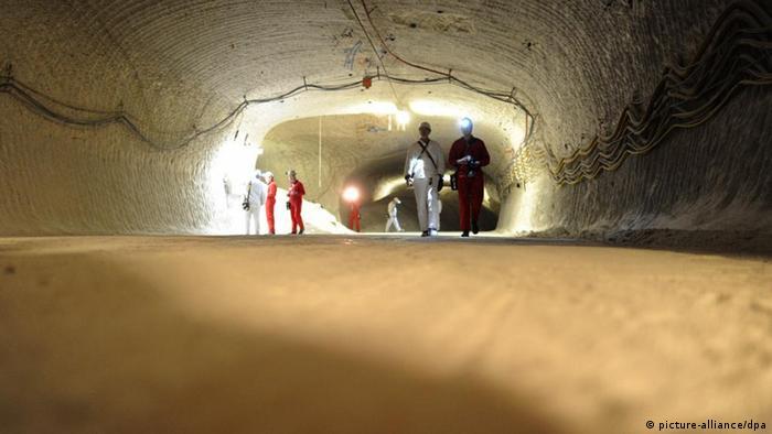 A shaft in a pilot mine in Gorleben