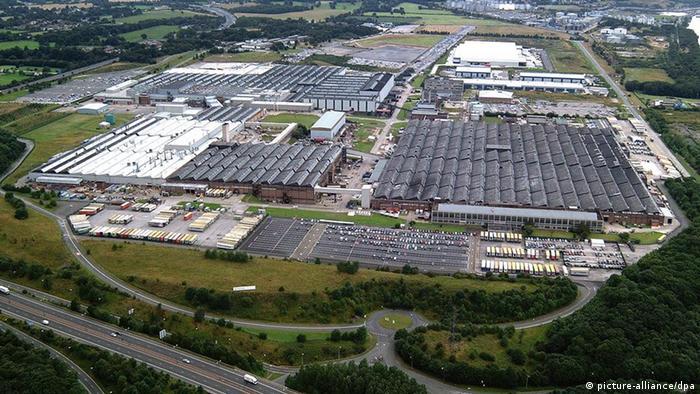 General Motors GM Vauxhall-Fabrik im britischen Ellesmere Port