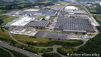 Завод Vauxhall в английском Элсмир Порте