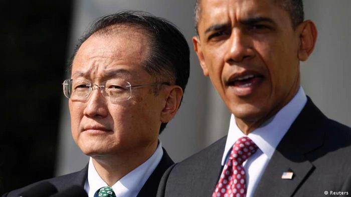 Jim Yong Kim i Barack Obama