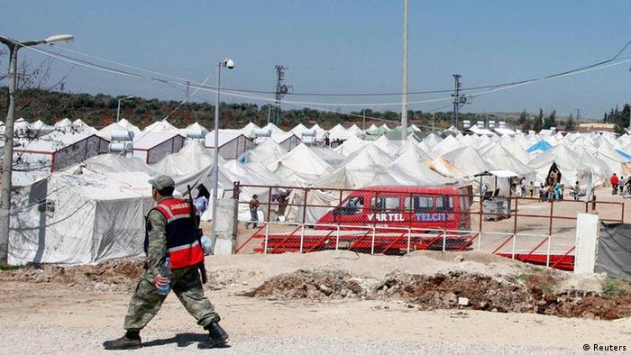 Reyhanlı'daki mülteci kampı