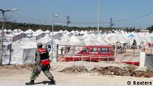 کمپ هزاران پناهجوی سوری در خاک ترکیه