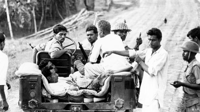 Pakistan Bangladesh Bürgerkrieg (AP)