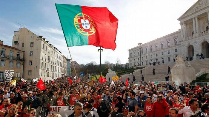 Portugal Sparmaßnahmen Demonstrationen Proteste