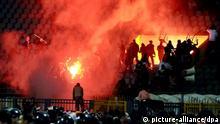 Ägypten Proteste Fußball